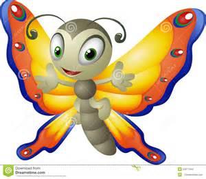 Cartoon Butterfly Clip Art