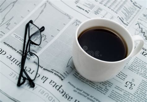 2,000+ vectors, stock photos & psd files. A Cup Of Coffee, Glasses And A Newspaper Stock Image - Image of caffeine, glasses: 4642419