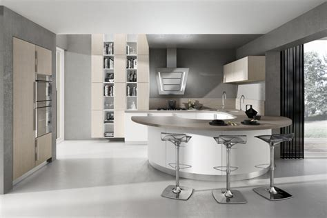 cuisine en u avec ilot diseño de cocinas modernas modelos simples y elegantes