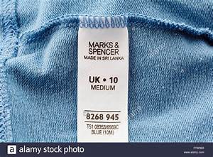 marks and spencer clothing label sewn inside a garment With inside clothing labels