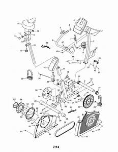 Proform 831218132 Exercise Cycle Parts