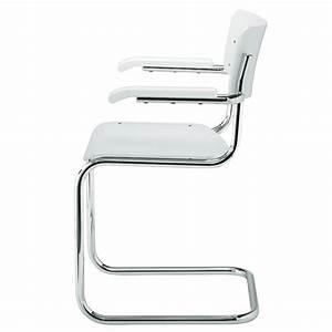 Freischwinger Stühle Klassiker : thonet s 43 schwarz gebeizt stuhl freischwinger mart stam bauhaus ~ Indierocktalk.com Haus und Dekorationen