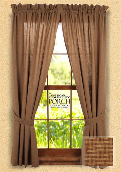 1000  images about Primitive curtains on Pinterest