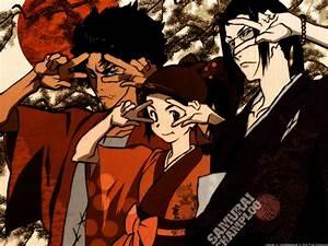 Samurai Champloo images Jin, Mugen and Fuu HD wallpaper ...