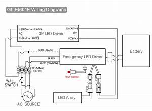 Emergency Led Driver Wiring Diagram