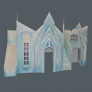 Frozen Castle Playhouse - Custom Designed by Tanglewood