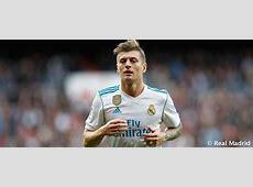 Toni Kroos medical report Real Madrid CF