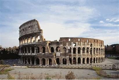 Famous Landmarks Rome Designtaxi Colosseum