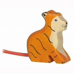 Ungiftige Farben Für Kindermöbel : holztiger holzfigur tiger klein sitzend ~ Whattoseeinmadrid.com Haus und Dekorationen