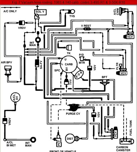 Ford Ranger Engine Vacuum Hose Diagrams The Station