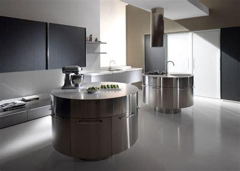 ilot rond cuisine cuisine moderne avec ilot central