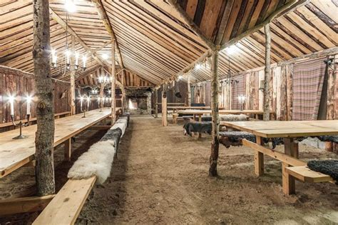 viking dining hall   Medieval Interior   Pinterest   Vikings