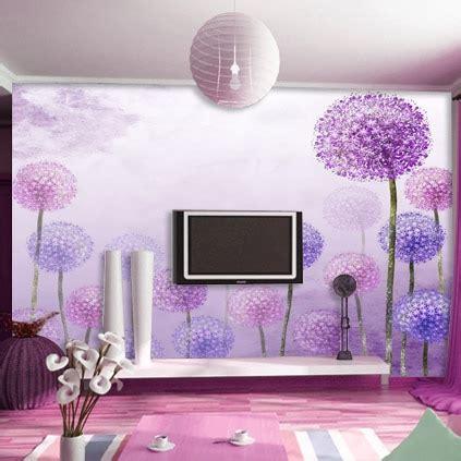 shipping dolly mural living room wallpaper purple tv