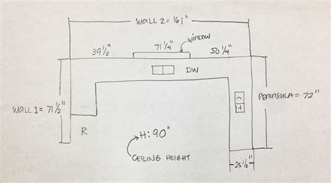 how do you measure for new kitchen cabinets how to measure your kitchen