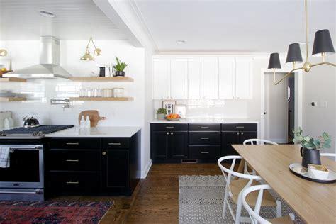 clean dark kitchen cabinets  diy playbook