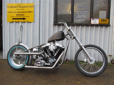 Frisco Style Harley Big Twin Chassis Built For Phil Piper