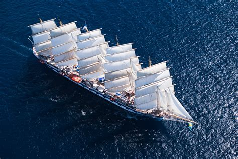 Royal Clipper The Only 5 Masted Tall Ship For Casual Sailing Cruises | Tropical Sails Corp ...