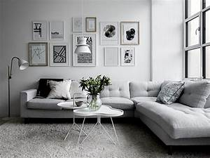 99 beautiful white and grey living room interior for Interior design living room white and grey