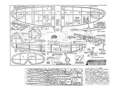 spitfire plan thumbnail   plan model airplanes