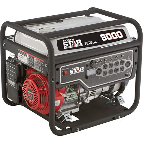 Generator Tool by Northstar Portable Generator 8000 Surge Watts 6600