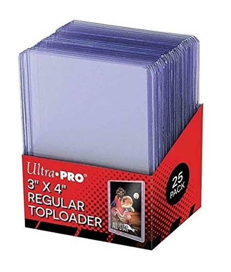 """Browse a variety of styles & sizes. 25 Pack Baseball Card Plastic Sleeves Storage Hard Protector Case 3"""" x 4"""" Sheets 