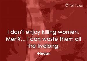 16 Awful Negan ... Funny Negan Quotes