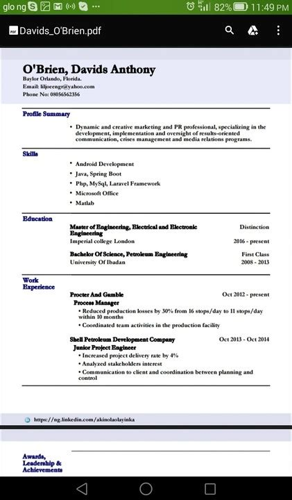 find attached resume of mine 6 tips for writing a winning curriculum vitae vacancies nigeria
