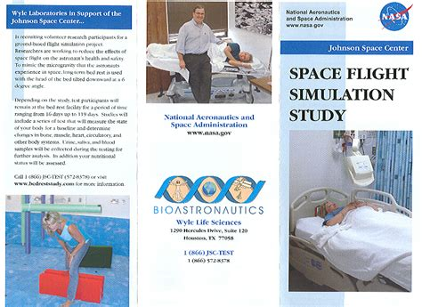 nasa bed rest study nasa bed rest study requirements nasa bed rest study