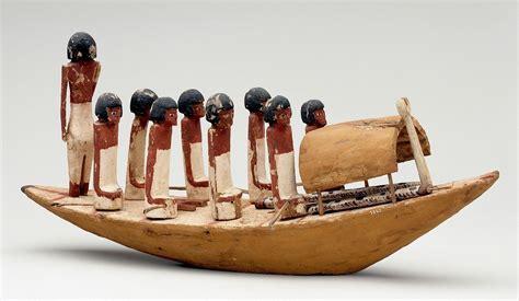 ancient egypt model  egyptian nile boat
