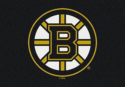 Bruins Boston Nhl Rugs Area Hockey Spirit