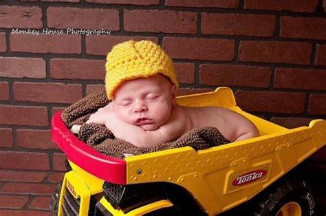 baby construction hard hat  meandmorningglory  etsy