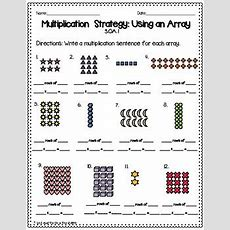 Multiplication Using Arrays Worksheets By Skills And Thrills In Third