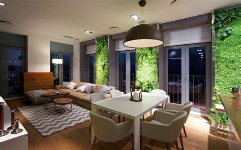 vertical gardening creates  oasis  contemporary