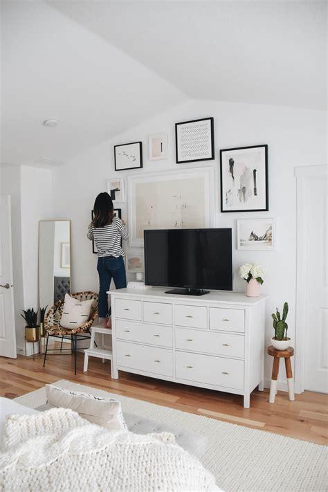 master bedroom gallery wall  minted crystalin marie