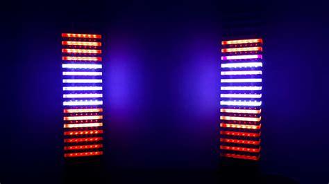 цму на rgb светодиодах stereo rgb led vu meter tower