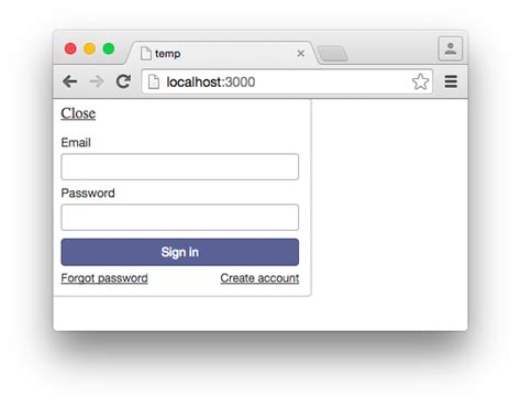 Creating A Custom Login And Registration Form With Meteor