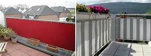 Sichtschutz Für Balkongeländer : sichtschutz balkon garten einebinsenweisheit ~ Markanthonyermac.com Haus und Dekorationen
