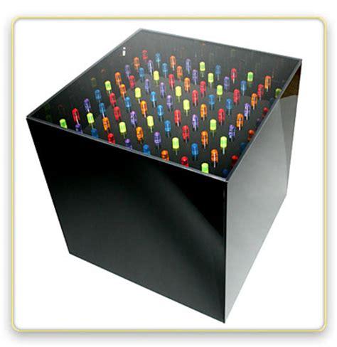 light bright cube rubik s cube and litebrite coffee tables craziest gadgets
