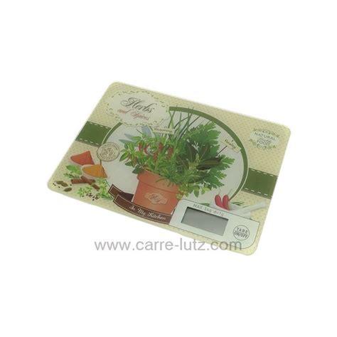 balance de cuisine plate balance de cuisine électronique plate décor herbes