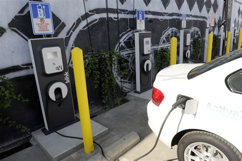 electric vehicles charging stations electric car charging stations open in arts district