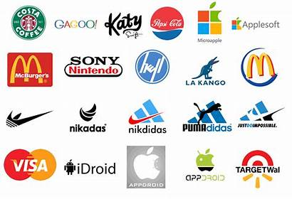 Logos Combined Famous Brands Rival Biggest Tuong