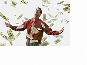 Manifesting Abundance: Money Falling from the Sky