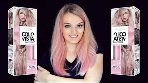 pink rosa pastell haare mit colovista colorista