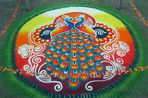 Simple & Easy Rangoli Designs For Diwali Freehand 2017 ...