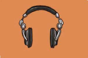 How to Draw Headphones, Step by Step Drawing Lessons ...