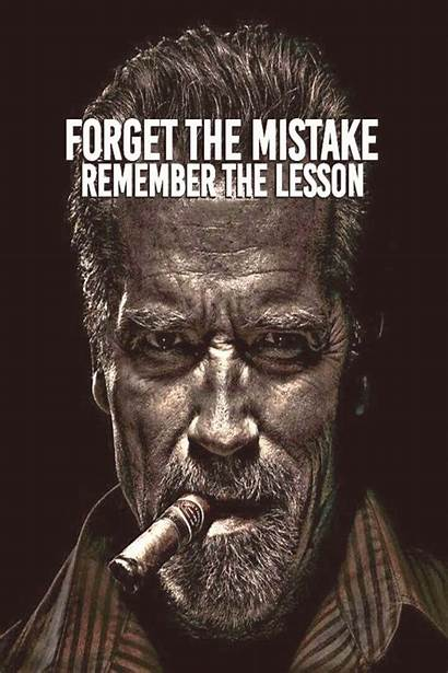 Mistake Quotes Forget Lesson Famous Remember