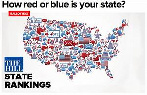 Ranking: Washington is the most Democratic state in the ...