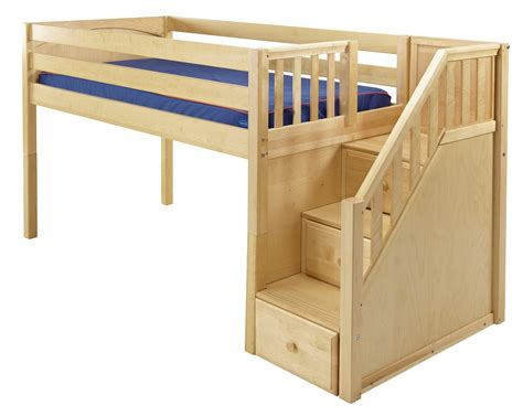 how to build a full size loft bed with desk how to build a full size loft bed with stairs friendly