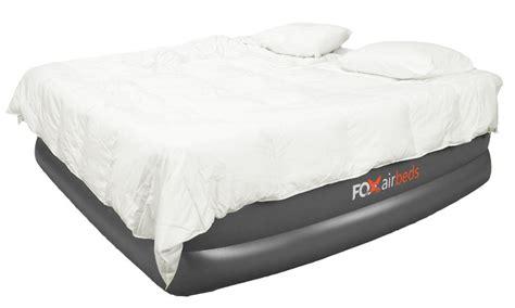 cing air mattress king size raised air mattress plush high rise