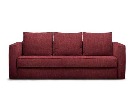 Divano Letto Rosso - outlet divano letto in tessuto rosso robinson berto shop